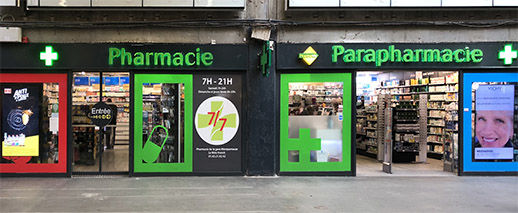 Pharmacie De La Gare Montparnasse,Paris
