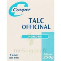 COOPER TALC, bt 250 g à Paris
