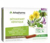 Arkofluide Bio Ultraextract Solution buvable détoxifiant hépatique 20 Ampoules/10ml à Paris