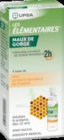 LES ELEMENTAIRES Solution buccale maux de gorge adulte 30ml à Paris