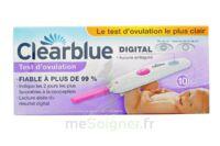 TEST D'OVULATION DIGITAL CLEARBLUE x 10 à Paris