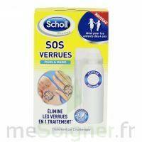 Scholl SOS Verrues traitement pieds et mains à Paris