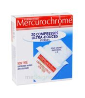 Mercurochrome Compresses Ultra-Douces Stériles x 20 à Paris