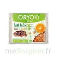 Oryoki Veggie Barre cacao orange B/2 à Paris