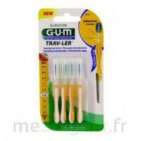 GUM TRAV - LER, 1,3 mm, manche jaune , blister 4 à Paris
