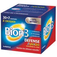 Bion 3 Défense Junior Comprimés à croquer framboise B/30+7 à Paris