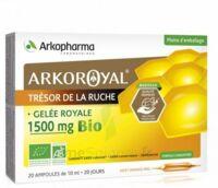 Arkoroyal Gelée royale bio 1500 mg Solution buvable 20 Ampoules/10ml à Paris