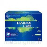 Tampax Compak - Tampon Super à Paris