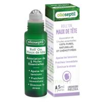 Olioseptil Huile essentielle maux de tête Roll-on/5ml à Paris